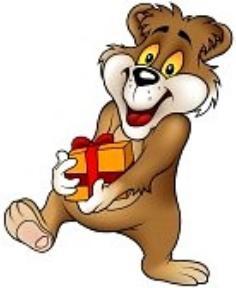 Medve ajándék